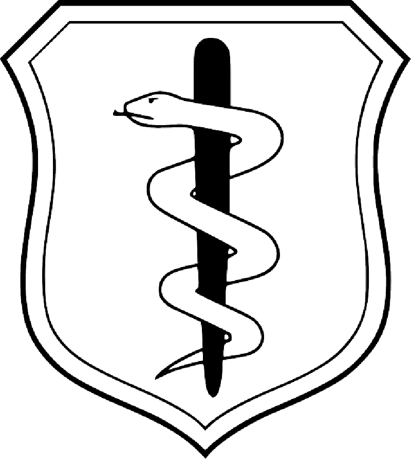 800x895 Snake, States, Symbol, Doctor, Shield, Health, Badge