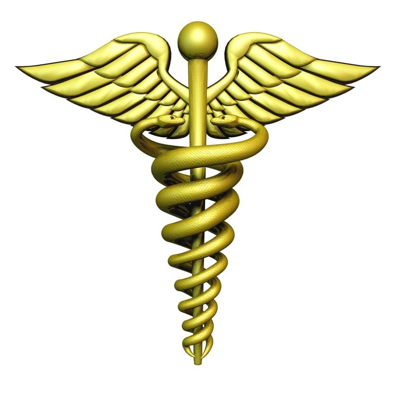 800x800 Symbol Medicine Hermes 3d Model