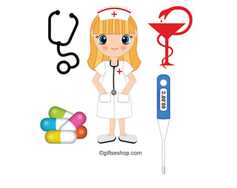 340x270 Doctor Clipart Medical Digital Clip Art Doctor Scrapbook
