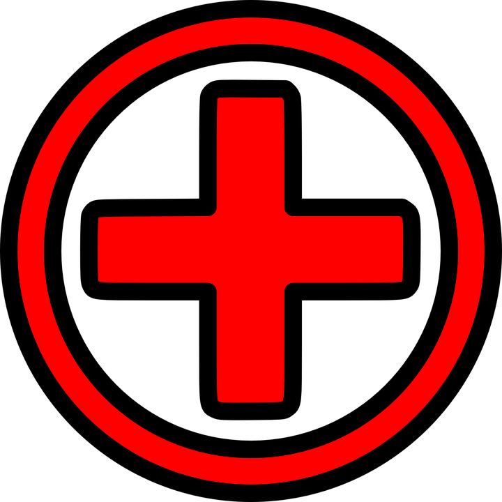 720x720 Red Cross Clipart Medical Sign