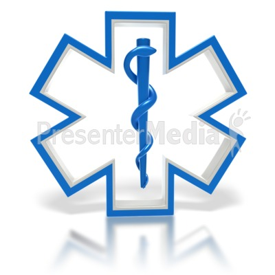 400x400 Star Of Life Medical Symbol