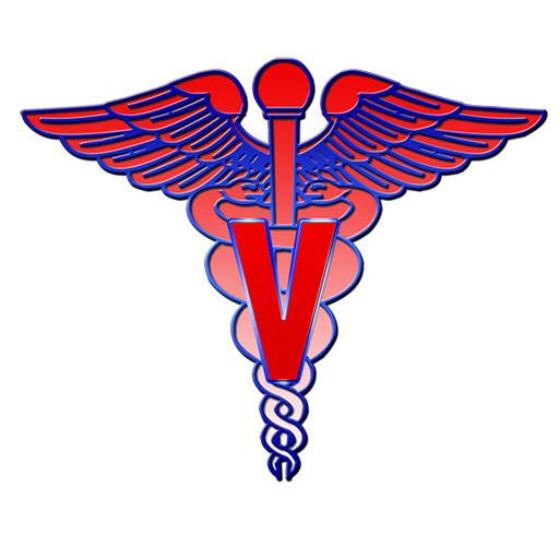 512x512 Veterinary Medical Symbol Clipart Image