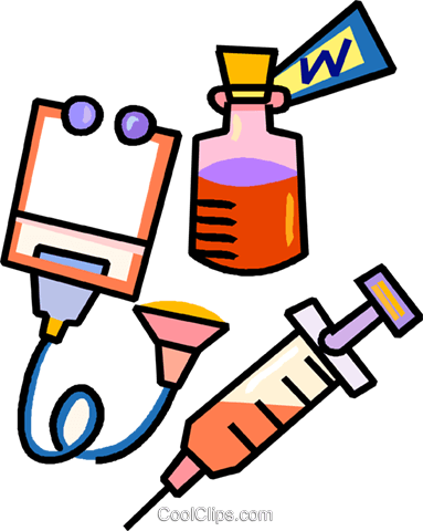 383x480 Medical Equipment Royalty Free Vector Clip Art Illustration