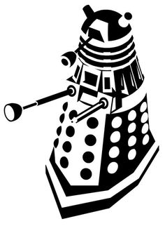 236x322 Doctor Who Stencil Silhouette Outline Clipart Mania! 16 Different