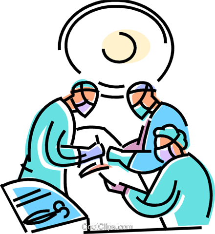 440x480 Surgery Clipart Doctors In Surgery Royalty Free Vector Clip Art
