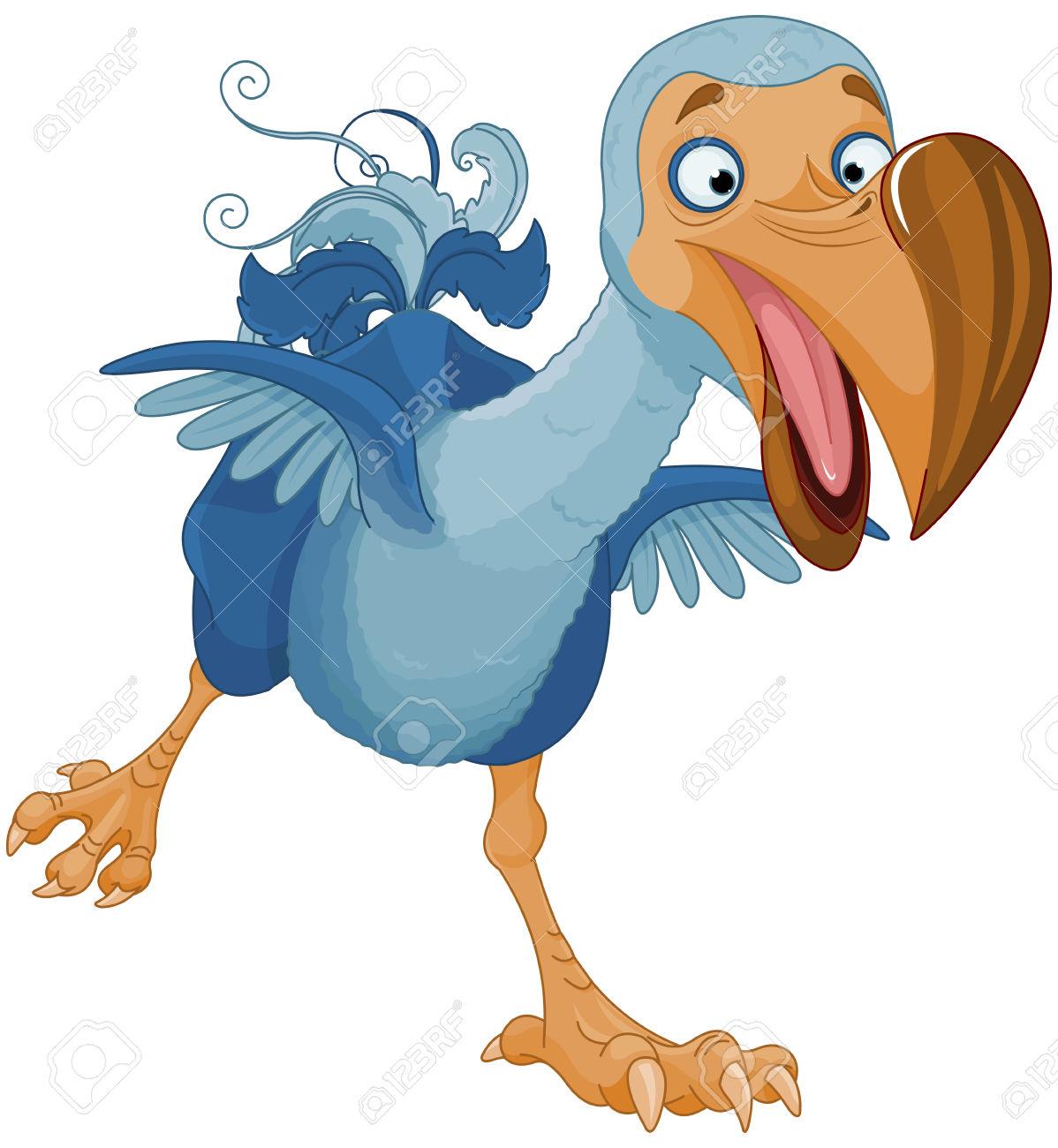 1198x1300 Dodo Clipart Cartoon