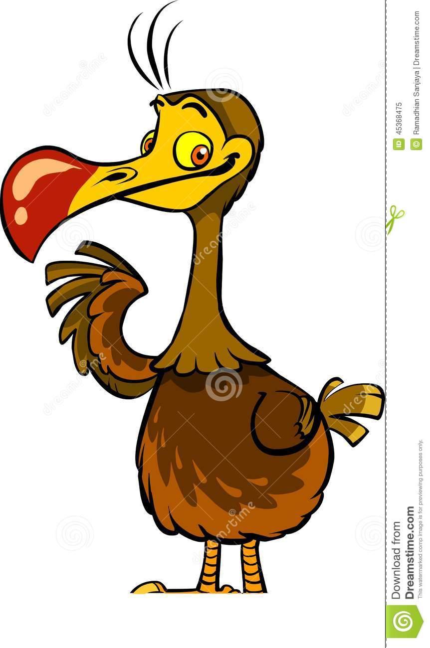 862x1300 Dodo Clipart Cute