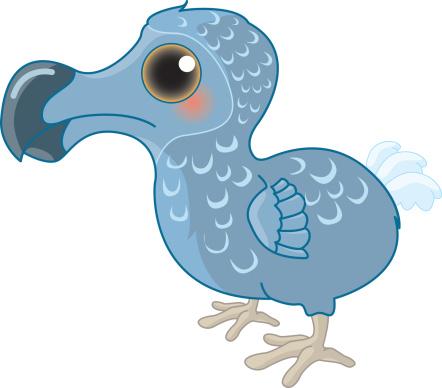 442x388 Dodo Clipart Extinction