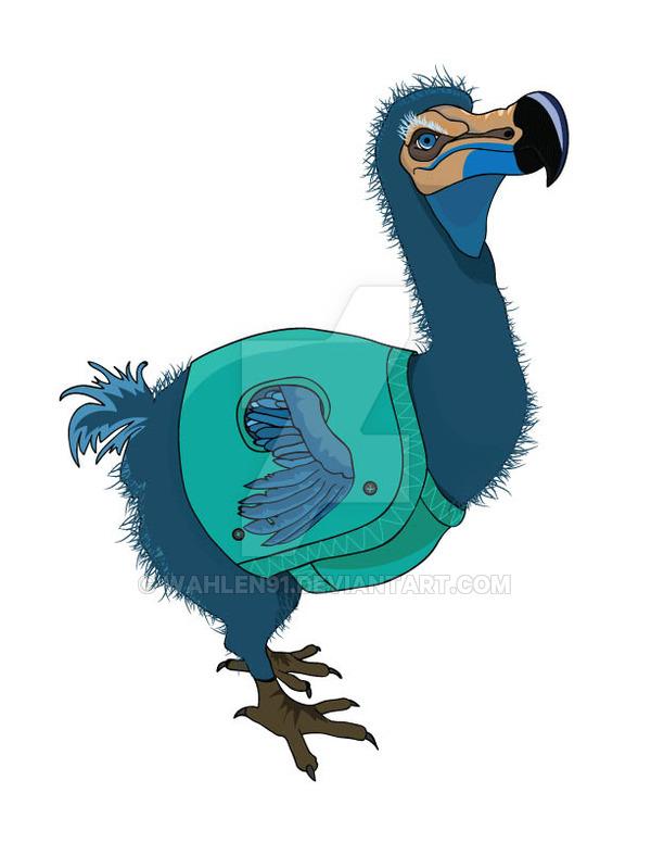 600x776 The Dodo Bird By Wahlen91