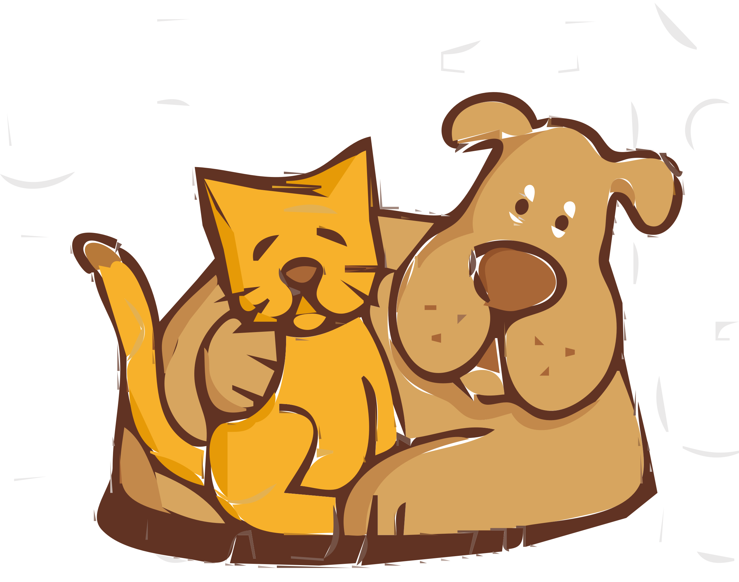 2400x1891 Pets clipart friend