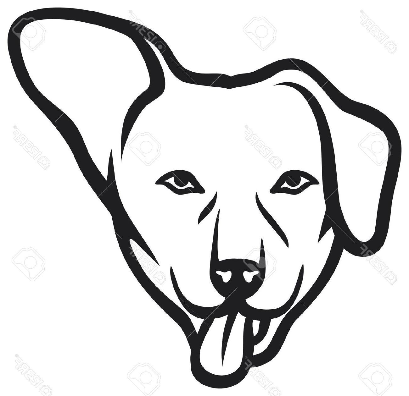 1300x1260 Black Cat Clipart Dog Face