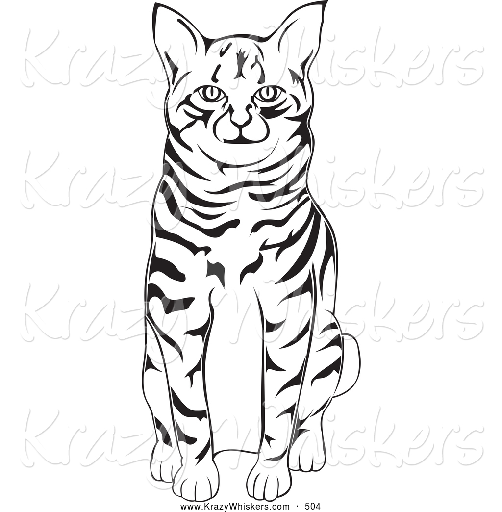 1024x1044 Cat Clipart Black And White