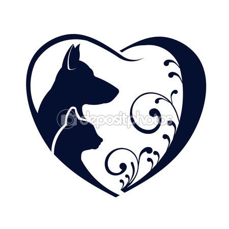 450x450 43 Best Dog Logo Images Silhouette, Cats And Dog