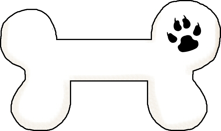 752x445 Dog bone clip art Clipart Panda