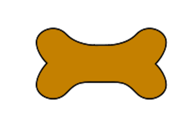 640x420 Clip art dog bone toy clipart