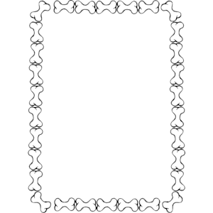 300x300 Dog Bone Border Clipart, Cliparts Of Dog Bone Border Free Download