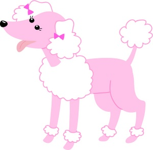 300x293 Poodle dog bone clipart, explore pictures