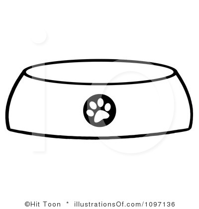 400x420 Dog Bowl Clipart