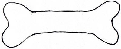 400x164 Pink Dog Bone Clip Art Clipart Image 4