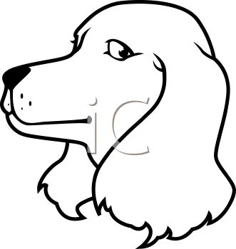 331x350 Black And White Cartoon Bone Dog Clip Art