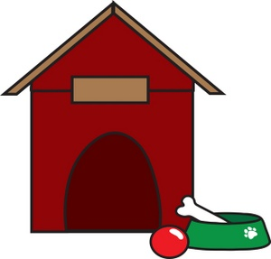 300x287 Free Dog House Clipart Image 0071 0902 0318 1430 Dog Clipart