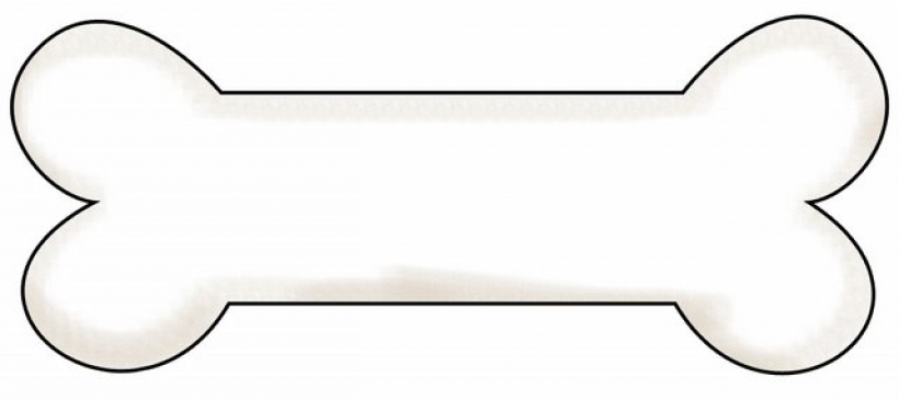 820x365 Teal Clipart Dog Bone