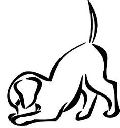 236x252 41 Best Dog Outline Tattoo Images To Draw, Ankle