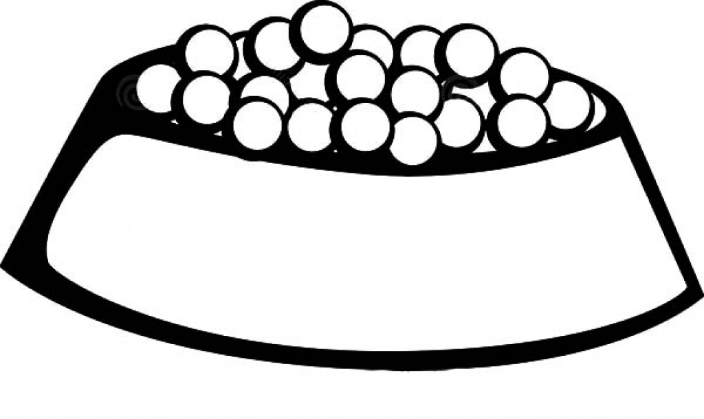 1024x610 Dog Bone Coloring Pages