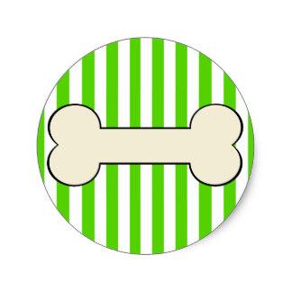 324x324 Dog Bone Stickers Zazzle