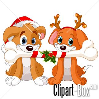 324x324 Dog Christmas Clipart