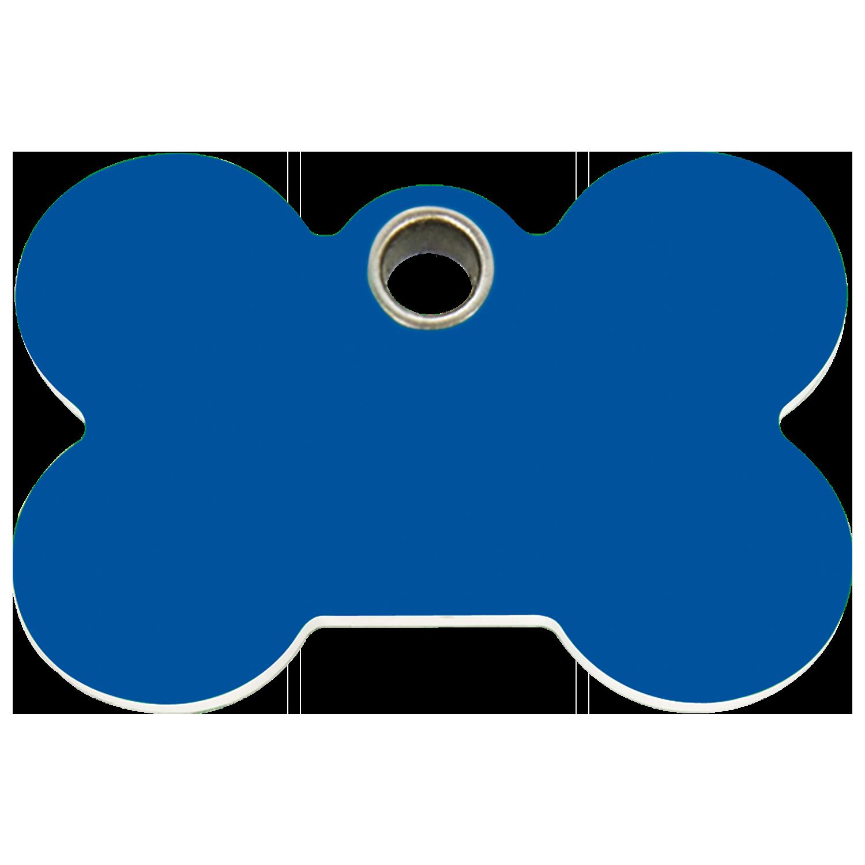 1500x1500 Red Dingo Plastic Tag Bone Dark Blue 04 Bn Db (4bnns 4bnnm 4bnnl)