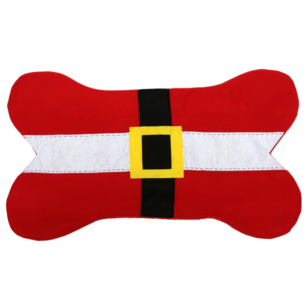 1000x1000 Christmas Dog Beds Amp Sofas Santa Belt Bone Shape Design Pet