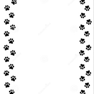 300x300 Cute Cat Paw Clipart Hd Dog Paw Border Clipart Cats Wallpaper Hd