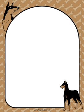 273x364 Doberman Dog Border.png