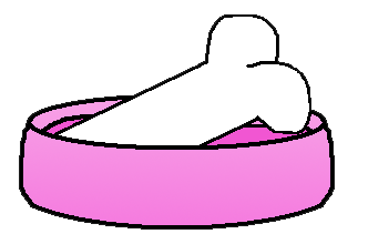 332x220 Bowl Clipart Pink