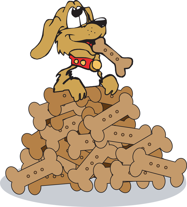 600x663 Bones Clipart Dog Biscuit
