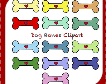 340x270 Dog Bone Clipart Etsy