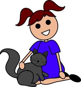 279x300 Pet Clipart Simple Cat
