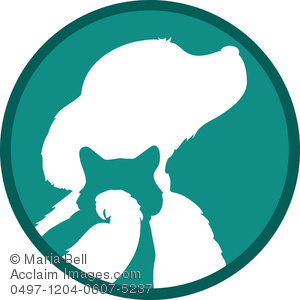 300x300 Of A Dog, Cat, Bird In A Clip Art Illustration