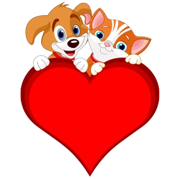 600x600 Cat And Dog Clip Art