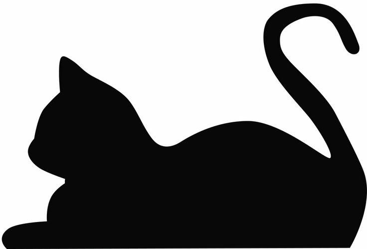 736x499 Cat Silhouette Clip Art