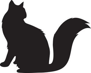 300x240 Silhouette Clipart Cat