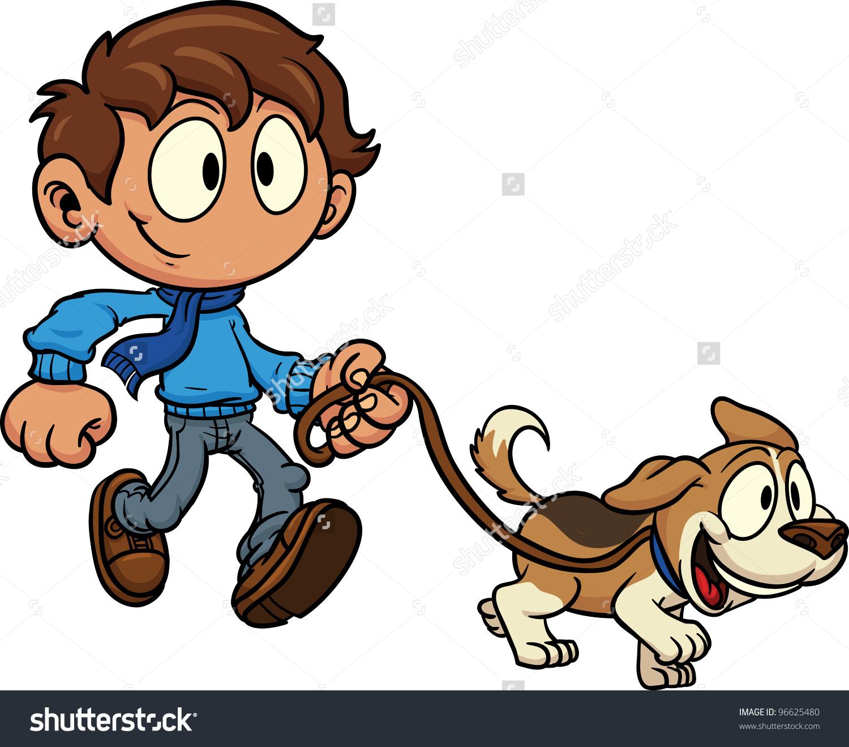 1500x1319 Dog Walking Clipart