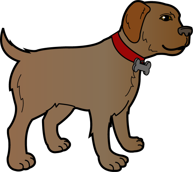 634x565 Dog clip art outline free clipart images