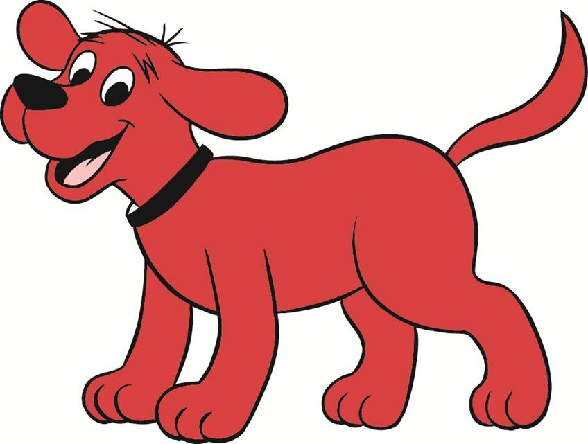 848x641 Clifford the big red dog clip art clipart