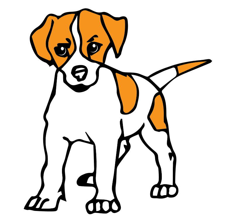 800x760 Clip art of a dog clipart image 2
