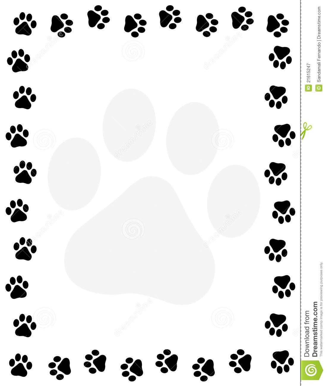 1101x1300 Dog And Cat Border Clipart