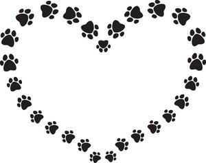 300x237 Dog Border Clip Art