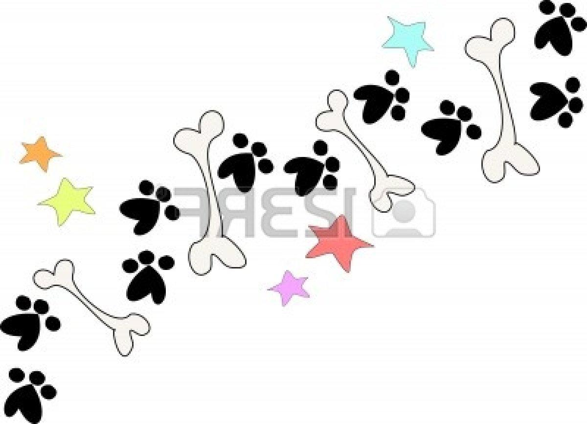1200x867 Best Free Dog Bone Border Clip Art Bones And Paws Vector Library