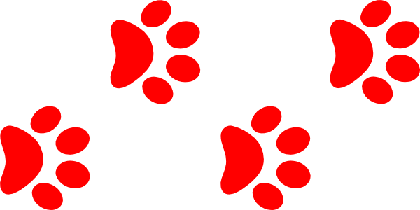 600x300 Image Of Dog Paw Clipart
